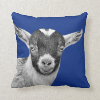 Goat farm animal photo nursery kids room cushion