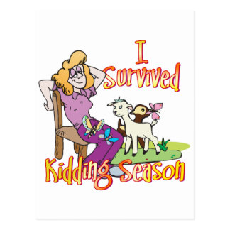 GOAT | Funny Kidding Season by GetYerGoat Postcard