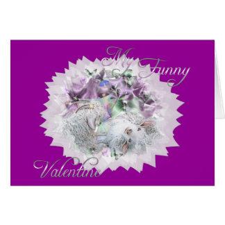 Goat Funny Valentine Card