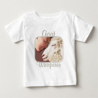 Goat Gifts Goat Whisperer Baby T-Shirt