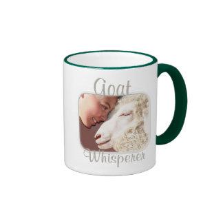 Goat Gifts Goat Whisperer Ringer Mug