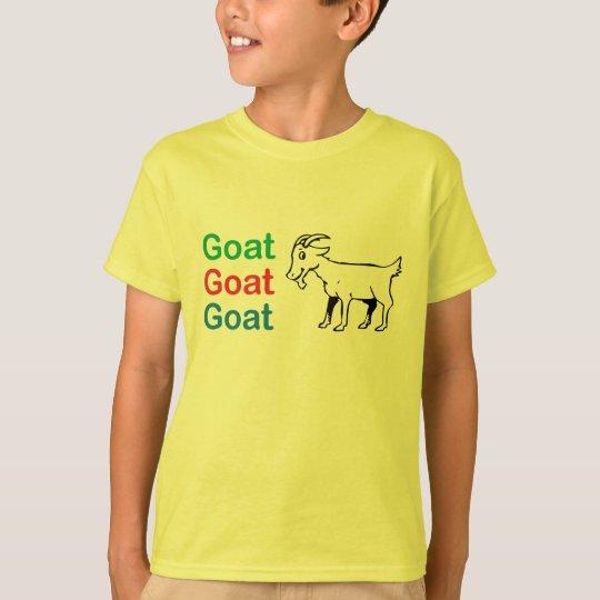 Goat Goat Goat Kids T Shirt