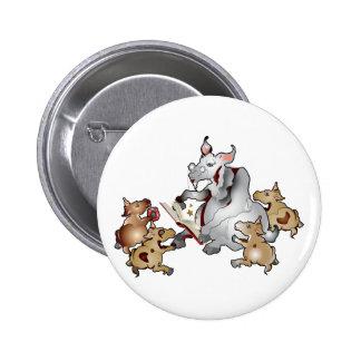 Goat Grand Kids - Grandma 6 Cm Round Badge
