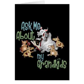 Goat Grand Kids - Grandma Card