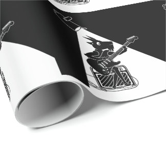 Goat Guitarist Wrapping Paper