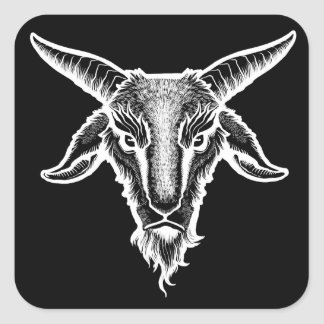 Goat Head Sticker