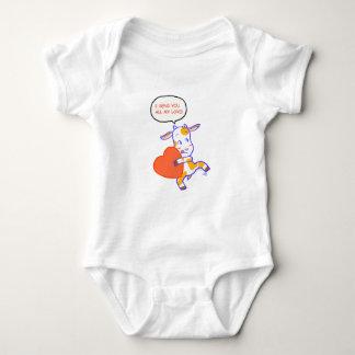 Goat Heart Baby Bodysuit