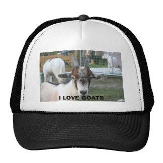 goat, I LOVE GOATS Cap