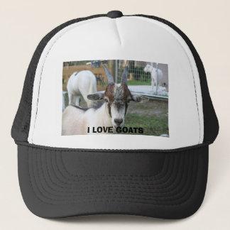 goat, I LOVE GOATS Trucker Hat