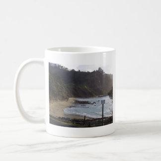 Goat Island Rocks Basic White Mug