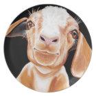 Goat Love Plate