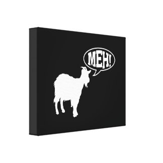 Goat Meh Canvas Print