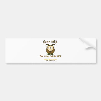 Goat Milk, The Other White Milk Producst Bumper Sticker