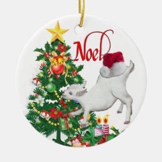 Goat Noel Ornament