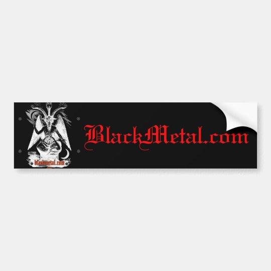 Goat of Mendes Black Bumpersticker Bumper Sticker