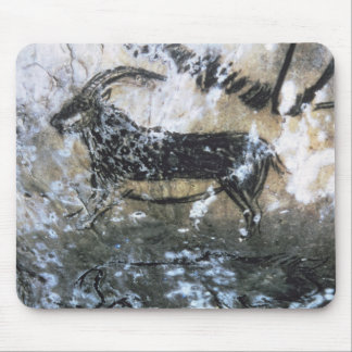 Goat or Chamois, rock painting in the Black Room, Mousepads
