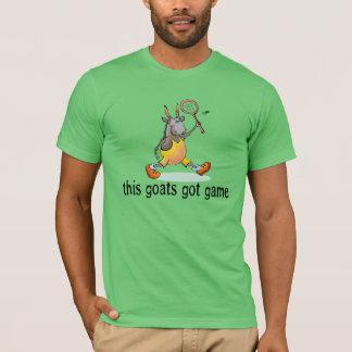 Goat Playing Badminton T-Shirt
