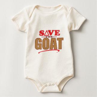 Goat Save Baby Bodysuit