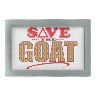 Goat Save Belt Buckle