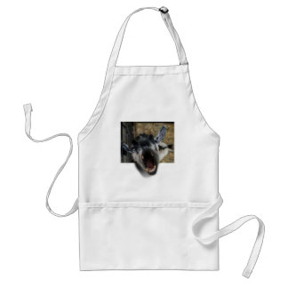 Goat Screaming to Get Out Adult Apron