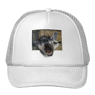 Goat Screaming to Get Out Trucker Hats