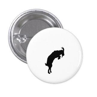 Goat Silhouette Pin