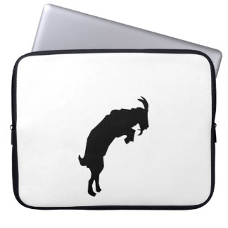 Goat Silhouette Laptop Computer Sleeve
