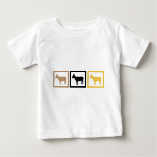 Goat Squares Baby T-Shirt