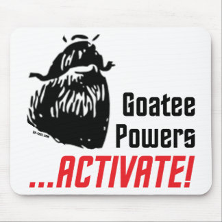 Goatee Powers Mouse Mat