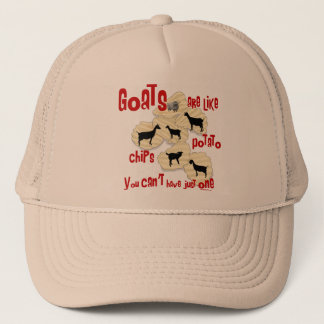 Goats are Like Potato Chips Trucker Hat