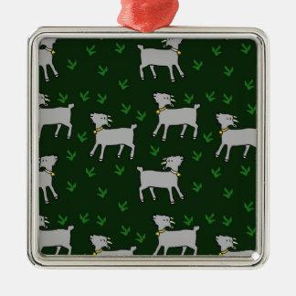 goats christmas ornament