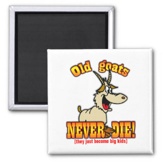 Goats Square Magnet