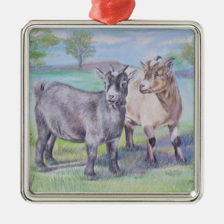 Goats Ornament