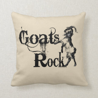 GOATS ROCK | by TotallyGoatally™ Cushion