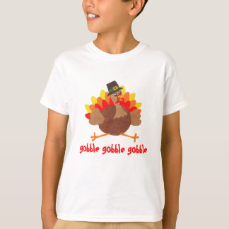 Gobble Gobble - Funny Thanksgiving - T-shirt
