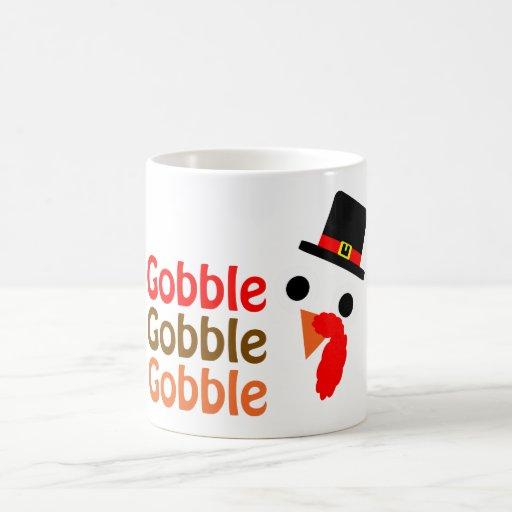 Gobble, Gobble, Gobble Coffee Mugs