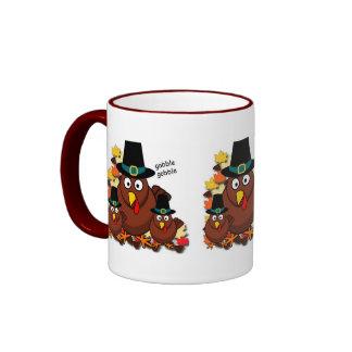 Gobble Gobble Ringer Coffee Mug