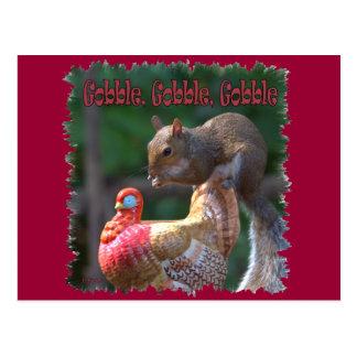 Gobble Gobble Postcard
