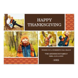 GOBBLE GOBBLE   THANKSGIVING PHOTO CARD