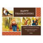 GOBBLE GOBBLE | THANKSGIVING PHOTO CARD 13 CM X 18 CM INVITATION CARD