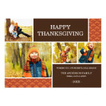 GOBBLE GOBBLE | THANKSGIVING PHOTO CARD PERSONALIZED INVITES