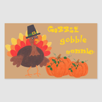 Gobble Gobble - Turkey Sticker