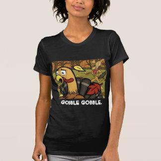 Gobble Gobble Women s Shirt Dark