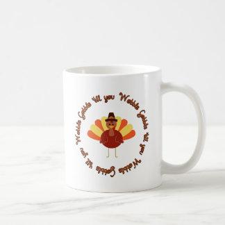 Gobble 'til you Wobble Coffee Mugs