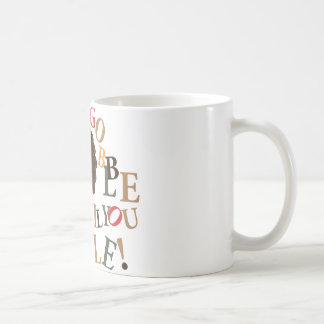 Gobble til you wobble! coffee mug