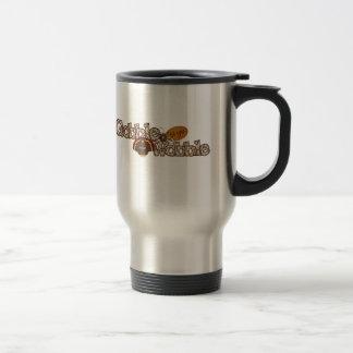 Gobble til you wobble stainless steel travel mug
