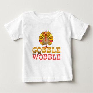Gobble Til You Wobble Turkey T-shirt