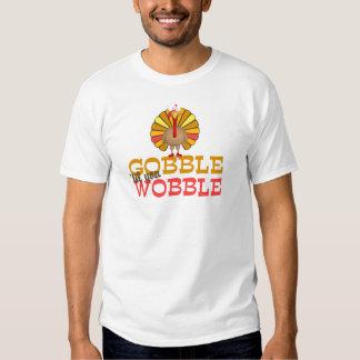 Gobble Til You Wobble Turkey Tees
