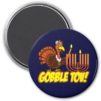 Gobble Tov Thanksgivukkah Turkey Magnet