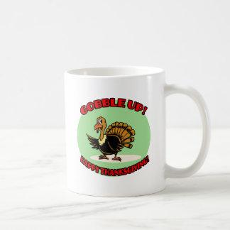 Gobble Up! Thanksgiving Turkey Mugs